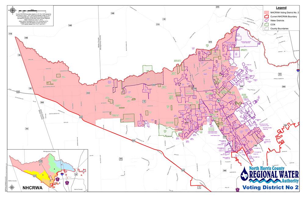 NHCRWA Voting District 2