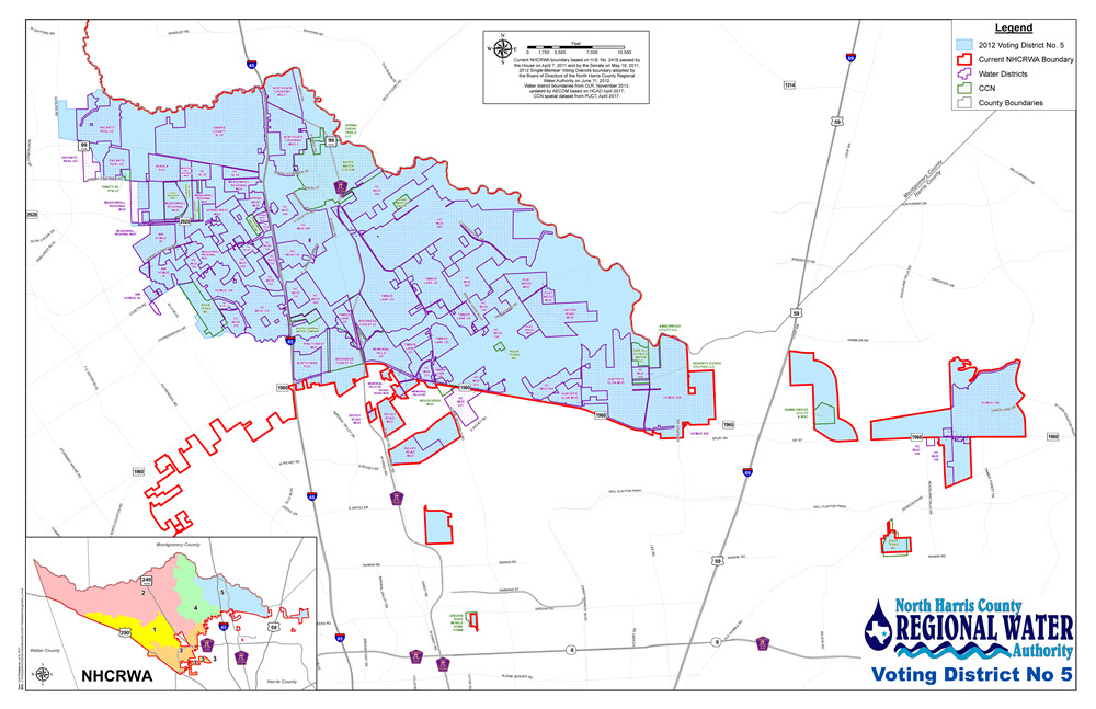 NHCRWA Voting District 5