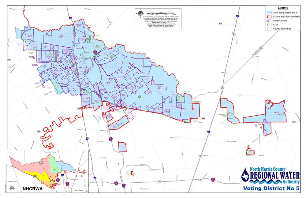 NHCRWA Voting District 5
