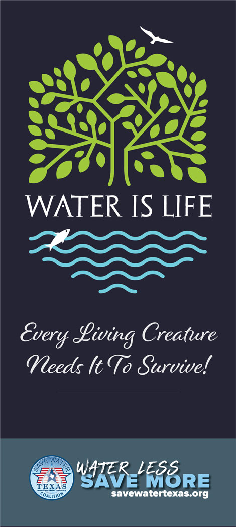 Water is life insert