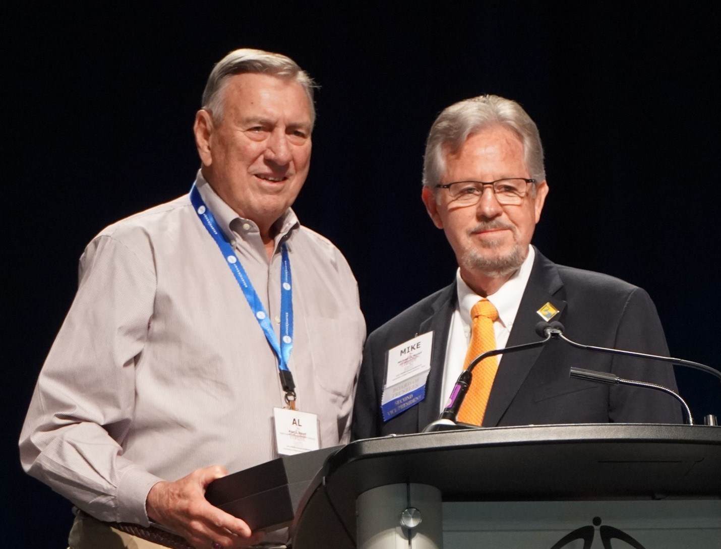 Al Rendl receives the prestigious AWBD VISIONS AWARD